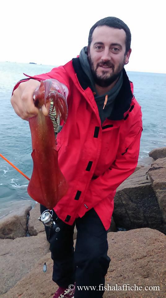 Et un autre calamar pour Rodney !