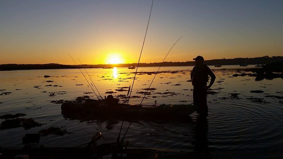 Un lever de soleil magnifique pour une pêche entre potes...