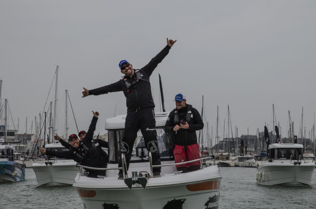Retour au Port dans la joie et la bonne humeur ! (Crédit Photo JB D'ENQUIN)