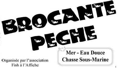 Brocante p che dimanche 02 avril fish l 39 affiche for Brocante dans 02
