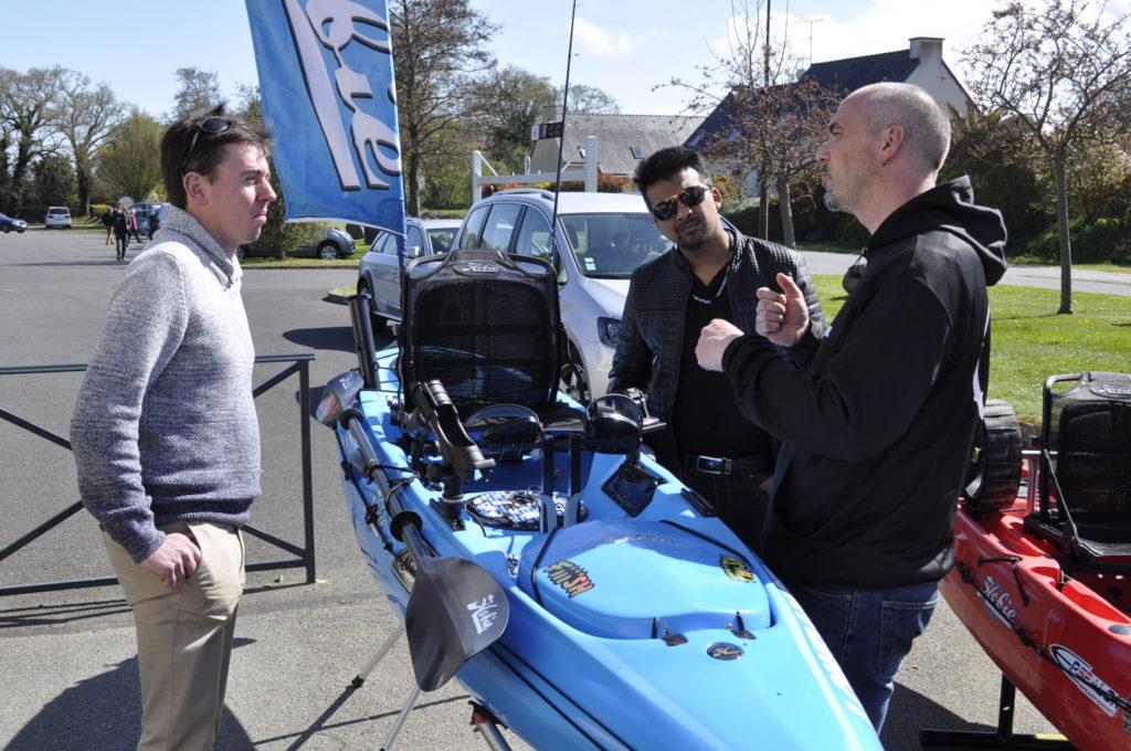 Rencontre avec un testeur de l'équipe savager's , monsieur LBM explique le fonctionnement des kayaks :)