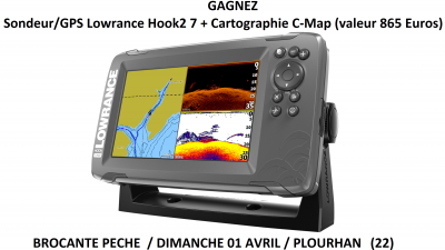 Lowrance HOOK2-7 SplitShot HDI product left facing 8-17_20814