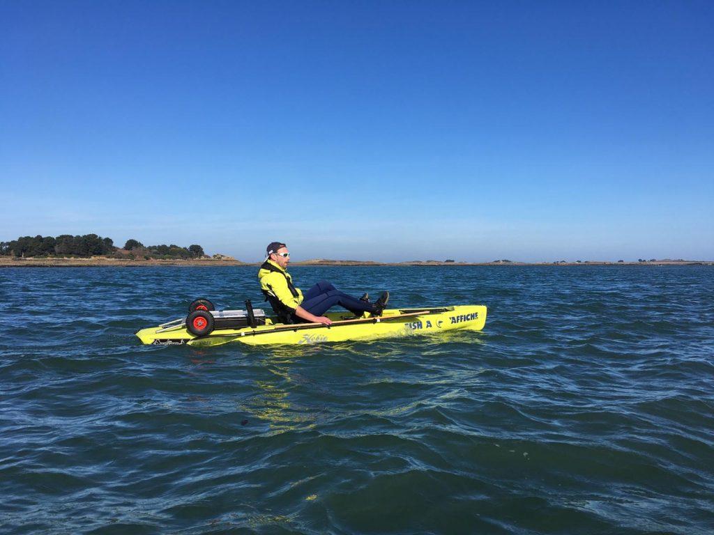 Découverte du kayak pour seb